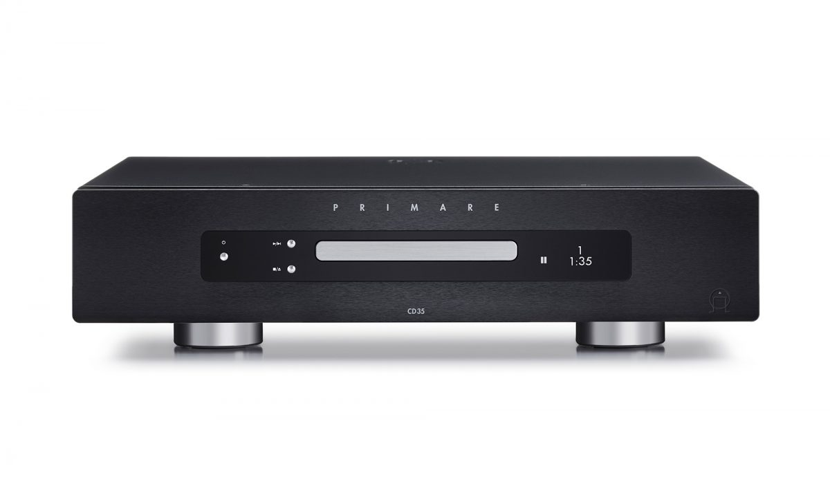 Primare CD35 CD player front black