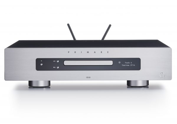 Primare CD35 Prisma CD and network player front titanium