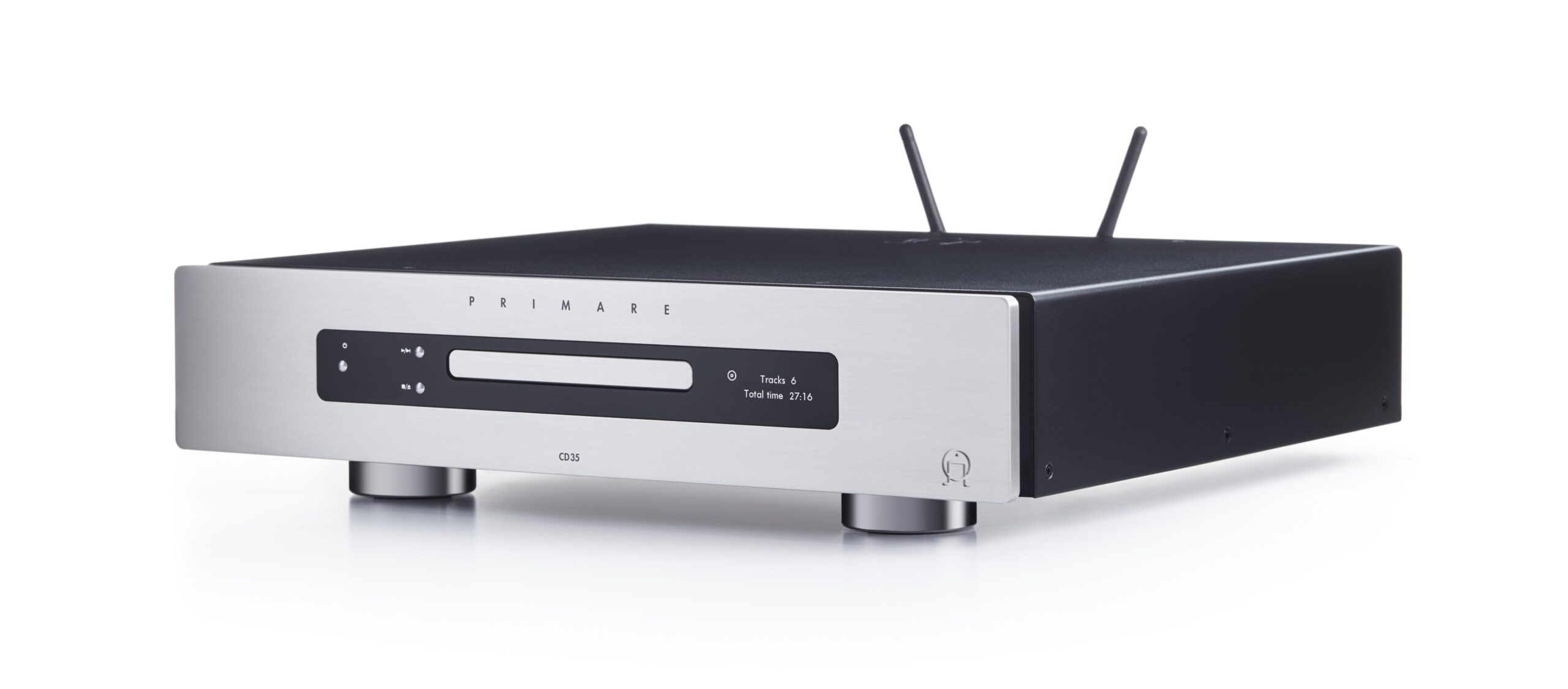 Primare CD35 Prisma CD and network player side titanium