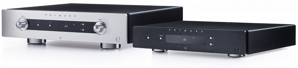 Primare I15 / I25 Integrated amplifiers titanium black