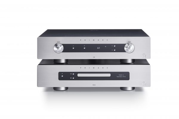 Primare I35 modular integrated amplifier, CD35 CD and network player